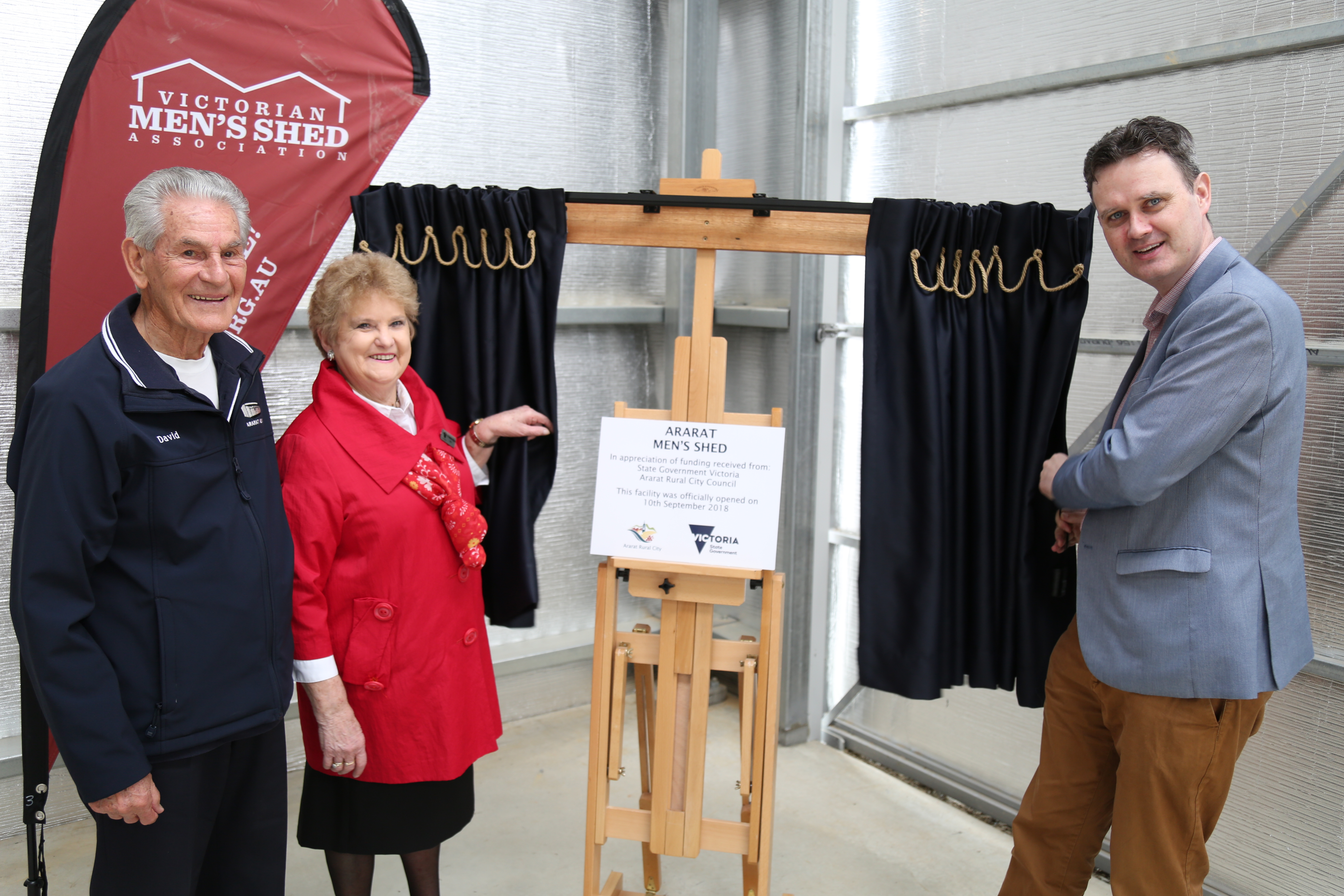 New Men's Shed Officially Opened