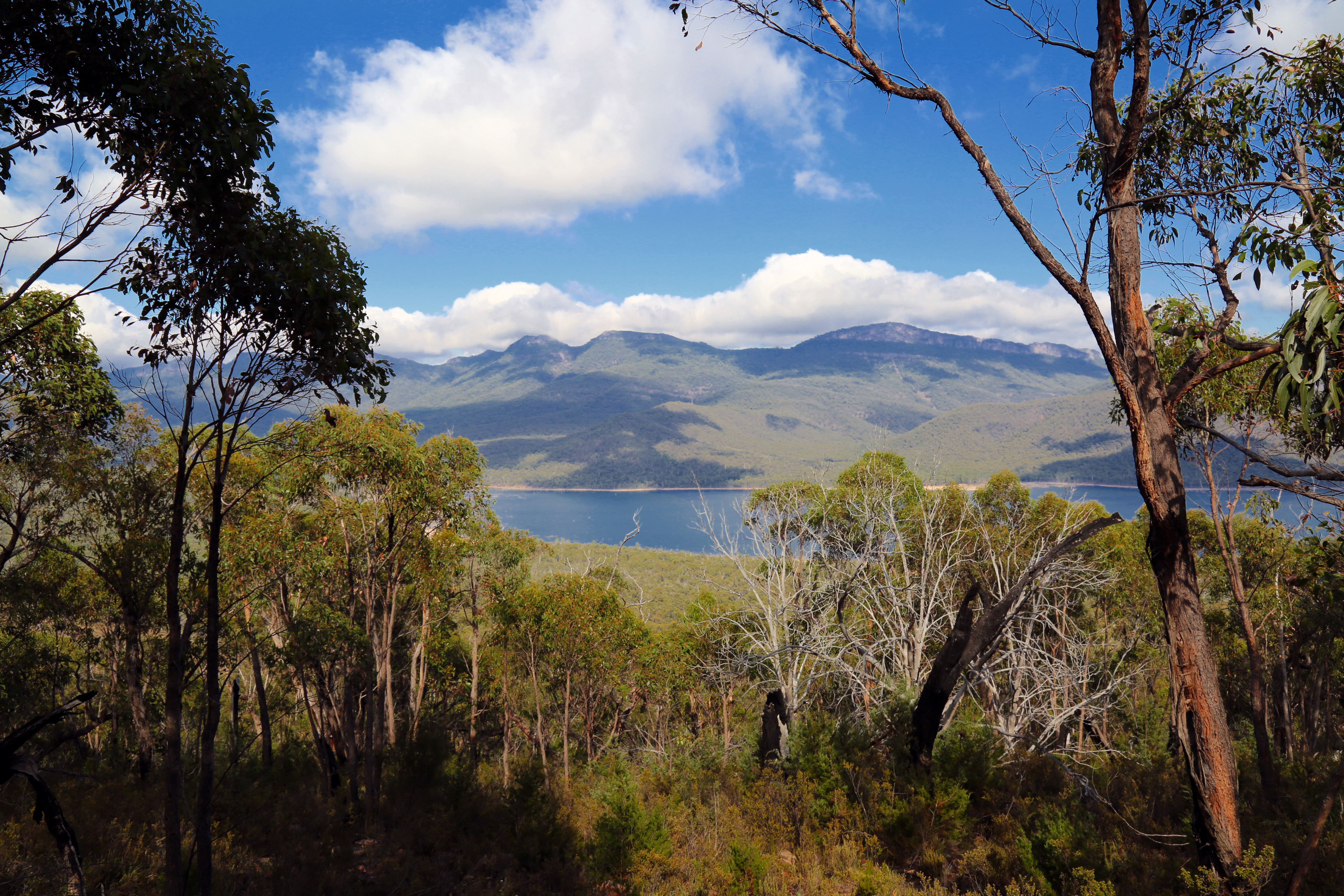 One of the spectacular views along the Tunnell Track walk from Pomonal to Halls Gap.