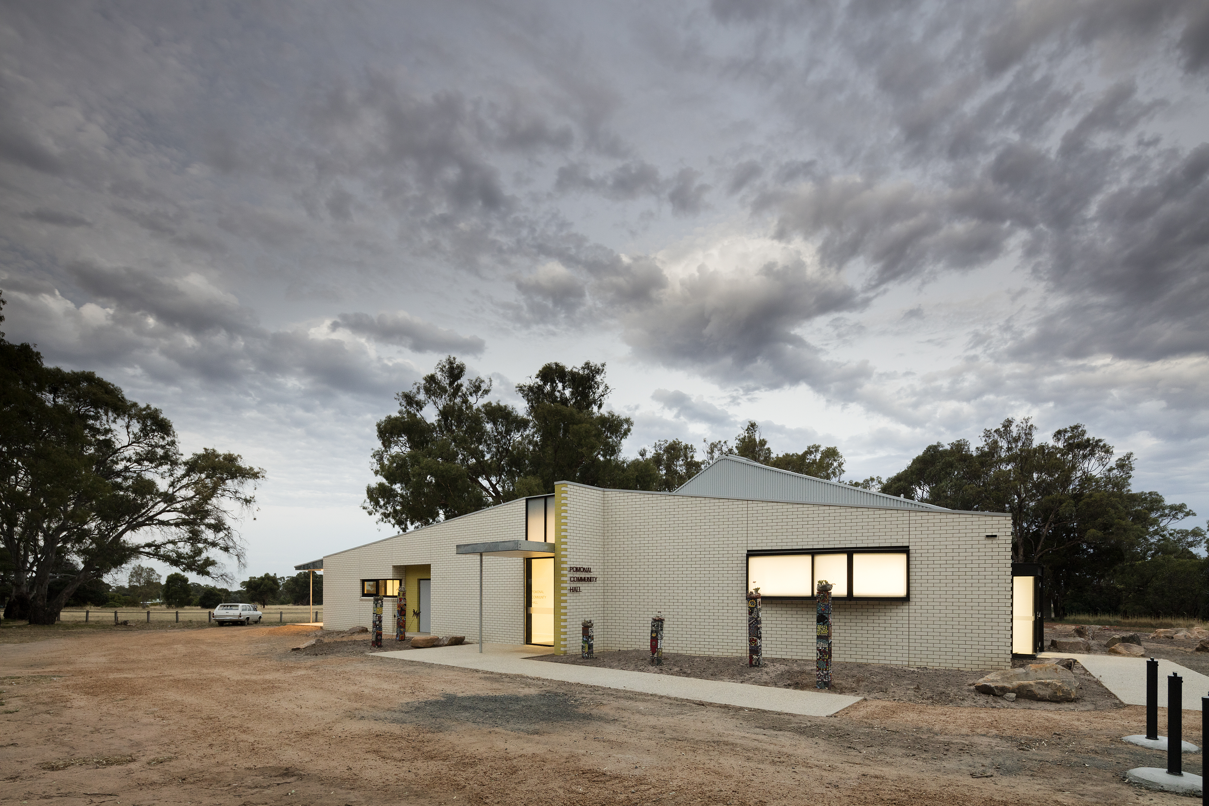 Pomonal Hall wins two architecture awards