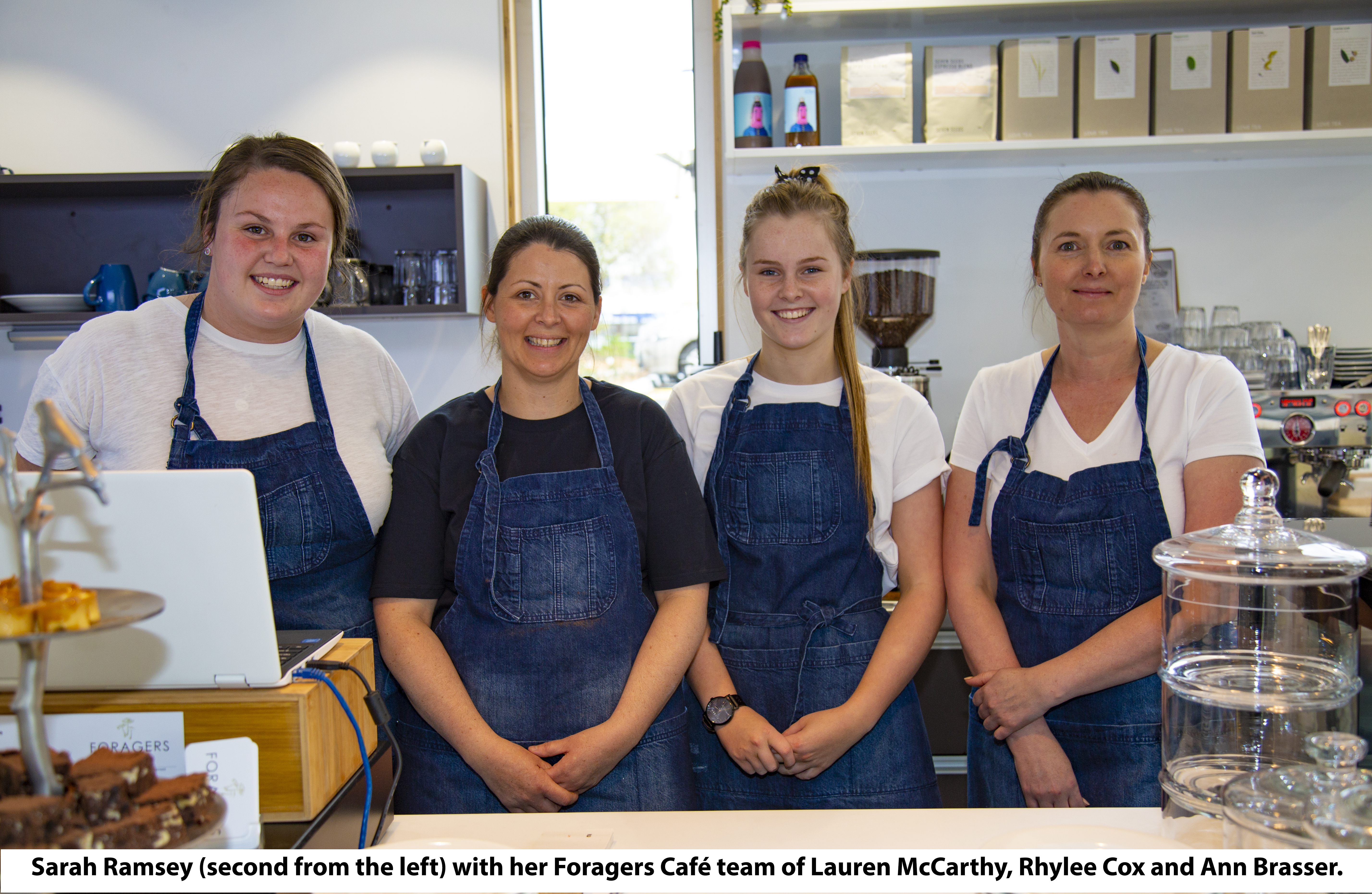 Foragers Café opens its doors