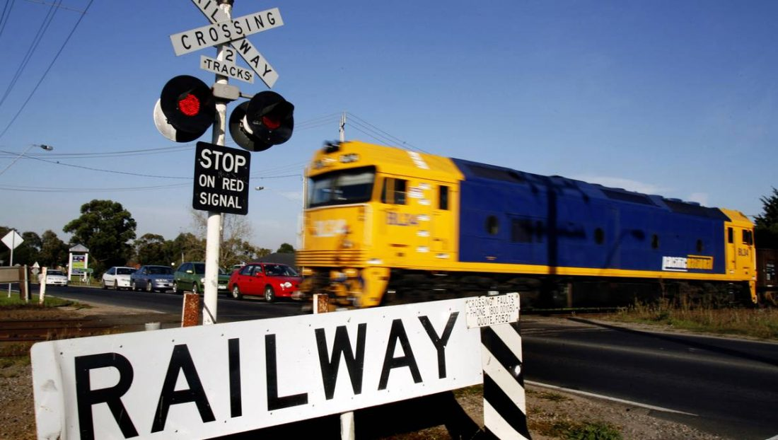 Safety around level crossings