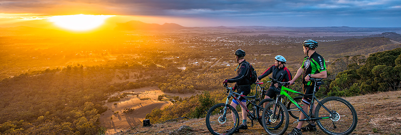 Mountain Bikes at One Tree Hill