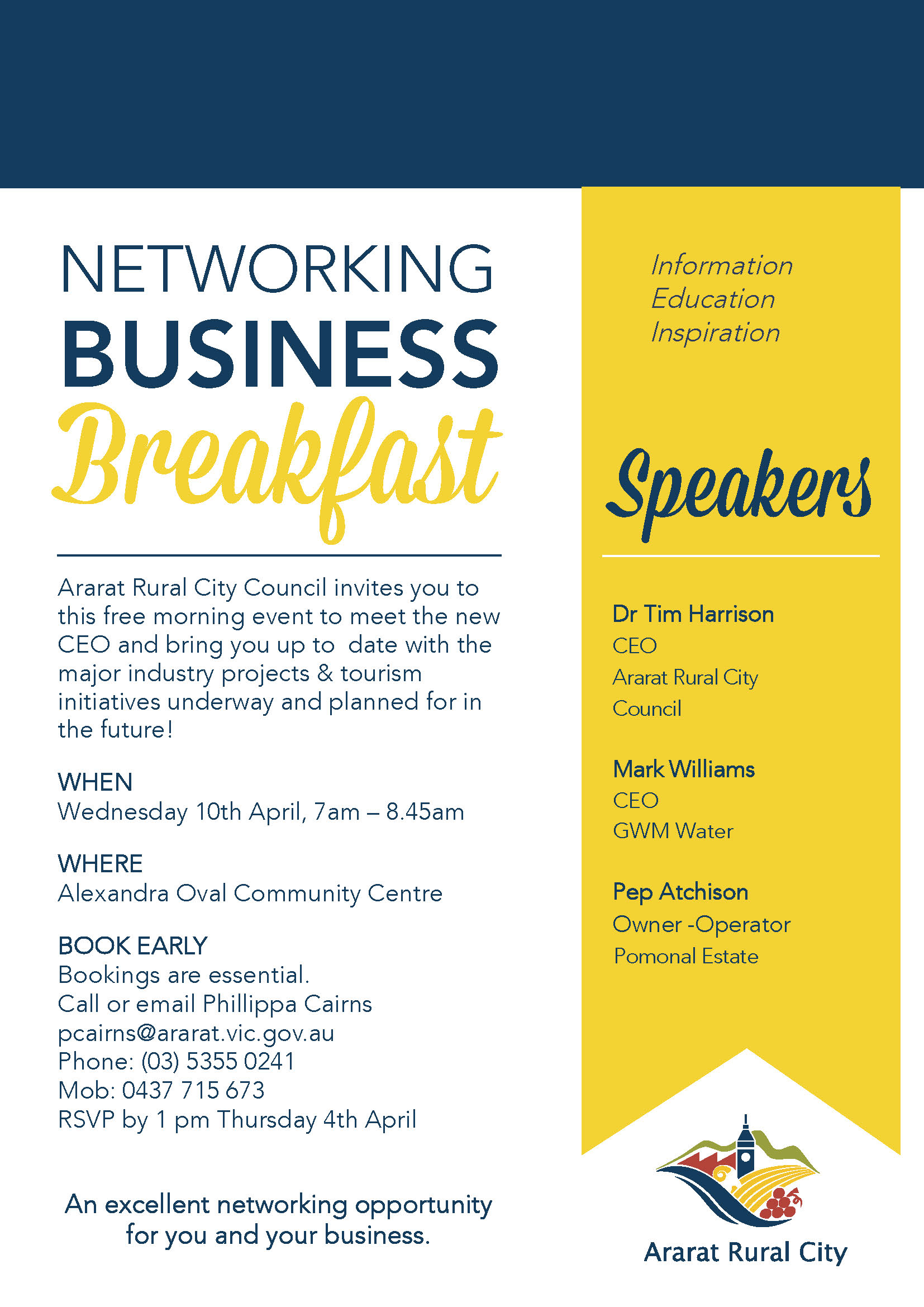 2019 Networking Business Breakfast series