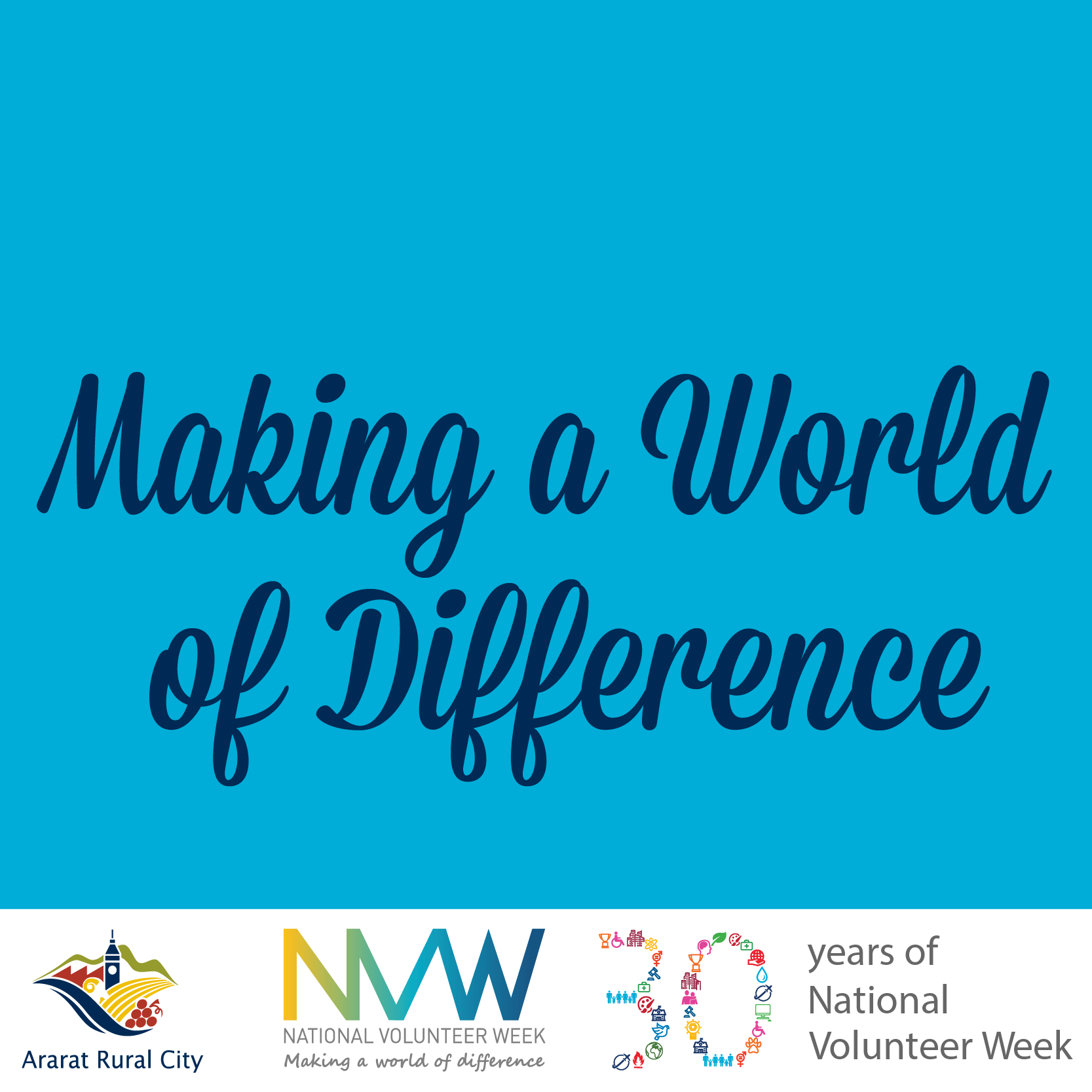 Dedicated community members to be thanked during National Volunteers Week