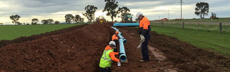 Water security for East Grampians farming communities