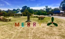 Christmas word at Moytson