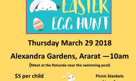 East Grampians Health Service Easter Egg Hunt
